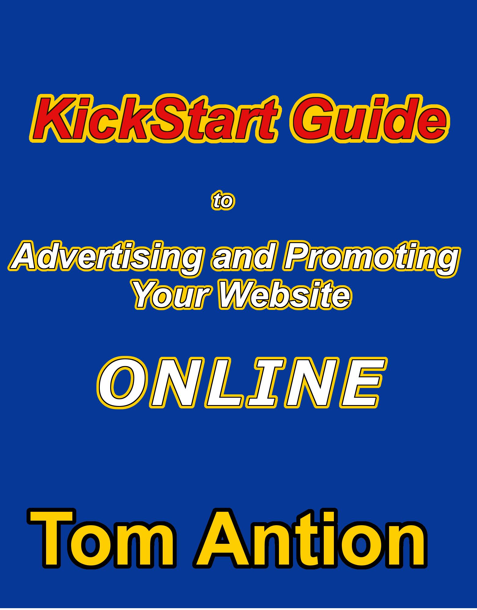 kickstart guide, promotion, advertising