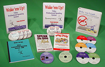 wake em up video professional speaking system