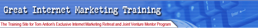 internet marketing retreat joint venture program